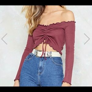 Nast Gal Crop Top